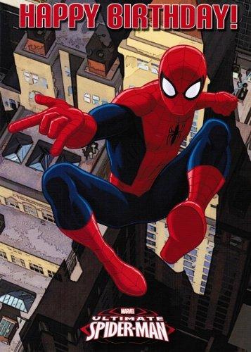 Ultimate-Spiderman Geburtstagskarte, allgemeine, nicht ab