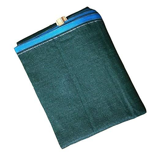 YANZHEN Filet D'Ombre Couverture Protectrice Résistante UV Bloquante UV De Protection Solaire De Vent avec Le Polyéthylène De Trou en Métal, 17 Tailles (Couleur : Vert foncé, Taille : 2x3m)