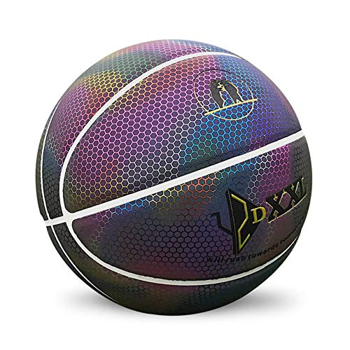 Buy Bargain Basketball, Fluorescent New and Interesting,Resistant not Easy to deform PU Basketball...
