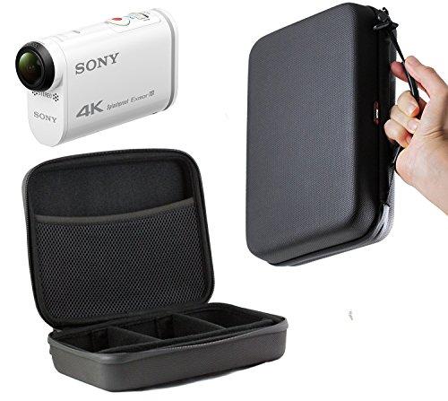 Navitech Schwarzes Schock Sicheres harten Fall/Abdeckung/Gehäuse für das Sony HDR-AZ1