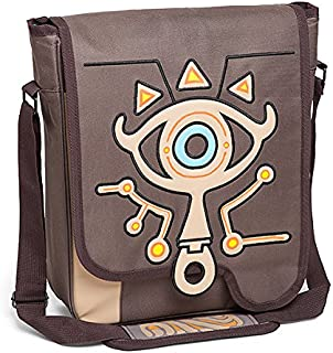 Legend of Zelda Breath of the Wild Sheikah Slate Satchel Backpack Deluxe (Limited Edition)