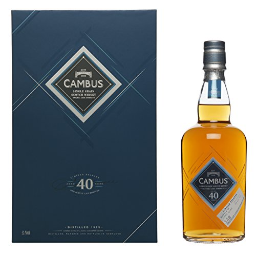 Cambus 40 Jahre Special Release 2016 Lowland Single Grain Scotch Whisky (1 x 0.7 l)