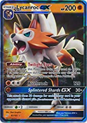 Name: Lycanroc-GX - 82/181 Set: SM Team Up