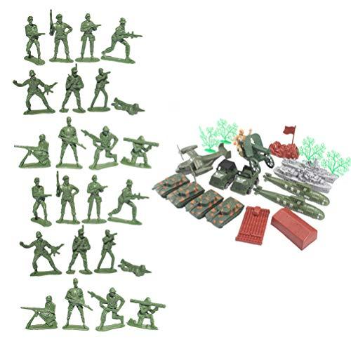 Toddmomy 120Pcs/ Set Soldier Playset Fuerzas Especiales Figuras de Acción Hombres Rangers Modelos Swat con Armas Y Accesorios Counter Strike Juguetes 5Cm