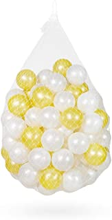 LIUFS-オーシャンボール ネットショップレッドデコレーションカラーボールプールのフェンス6.5センチメートルPE素材屋内家庭ウェーブウェーブプール子供ボール肥厚弾性オーシャンボール (Size : 100)