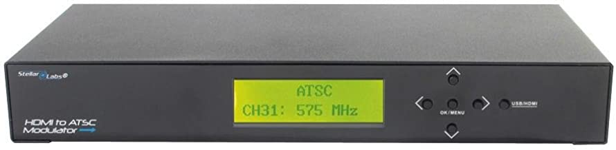 33-11980 - High Definition ATSC RF Modulator - Frequency Agile - HDMI Input