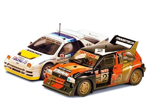 Scalextric SuperSlot - Coche Slot Twin Pack clásico Rallycross (Hornby S3267A)