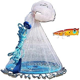 Cibee Fishing Cast Net 8/10/12 ft, Saltwater Fish...