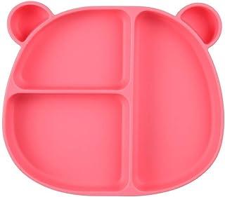 color rosa Cuenco de silicona con ventosa Beaba 913440 B/éaba