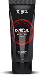 BEARDO ACTIVATED CHARCOAL PEEL OFF MASK 100g DEEP CLEANSING, OIL CONTROL, TIGHTEN PORES