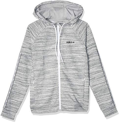 adidas Performance Expressive Sweatjacke Damen grau/weiß, M