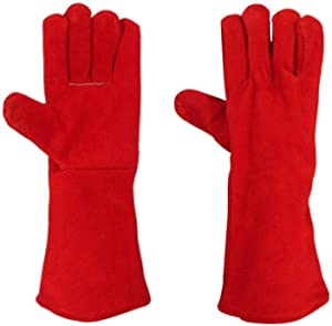 Welding Leather Hand Gloves Heavy Duty Comfortable