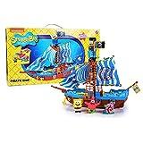 Simba Bob Esponja - Barco Pirata, Incluye Figura de Sponge Bob, Gary y...