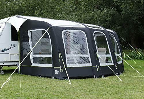 Leisurewize - Skyliner 420 Air Caravan Porch Awning - Inflatable - Made from 3000HH rated waterproof...