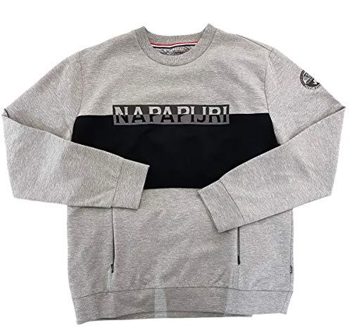 Napapijri heren sweatshirt N0YHWG176 blauw - blauw - Large