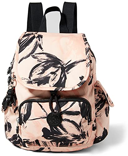 Kipling Women's City Pack Mini Casual Daypacks, Coral Flower, One Size