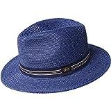 Bailey Sombrero Fedora Hester Azul Marino/Jaspeado - L