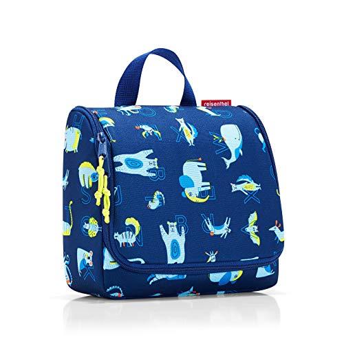 reisenthel toiletbag kids 23 x 20 x 10 cm/ 23 x 55 x 8,5 cm expanded / 3 l / abc friends blue