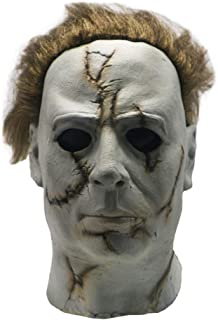 Michael Myers Mask Halloween Horror Latex Cosplay Prop for Adult