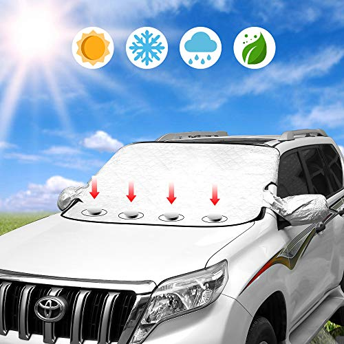 Windshield Sun Shade Car Sunshade Cover $6.30 (70% Off with code)