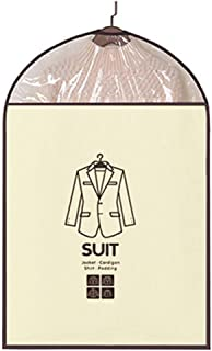Haute qualité Housses for vêtements respirant Costume Robes Cover Set Sac de 6 antipoussière Veste sac de rangement for le...