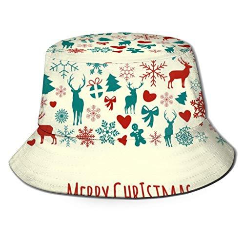 zhouyongz Sonnenhaube für Sommer und Winter, für Jagd und Angeln, Picknick, neutrale Hülle, Frohe Weihnachten, Einladungskarte