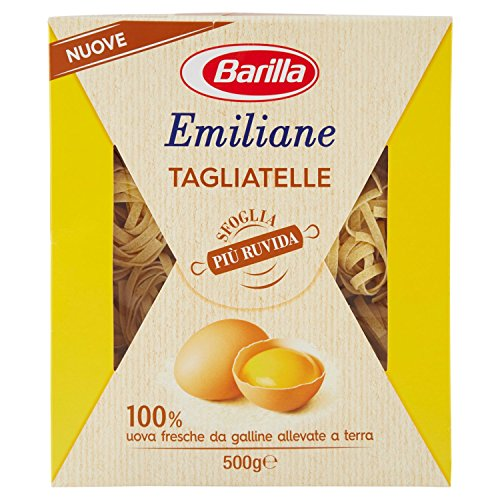 Barilla - Emiliane, Tagliatelle All'Uovo - 500 G - [confezione da 6]