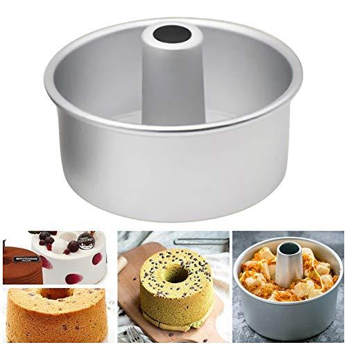 CviAn 6 Zoll aluminiumlegierung runde hohl Chiffon kuchenform abnehmbare untere mousseform Kuchen backen küche gebäck Werkzeuge