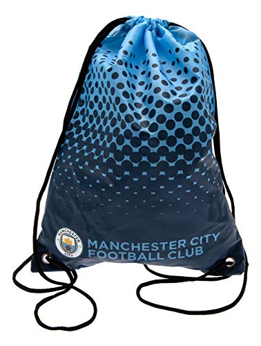 Manchester City F.c. Gym Bag Official Merchandise