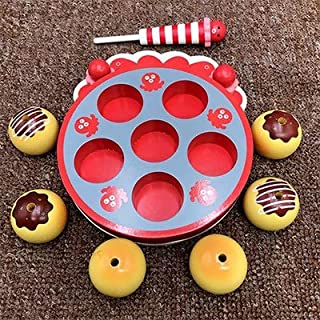 Play Food, Wooden Kids Play Food, Colorful Fruit Vegetables Pretend Play Food for Pretend Role Playing Christmas Christmas...