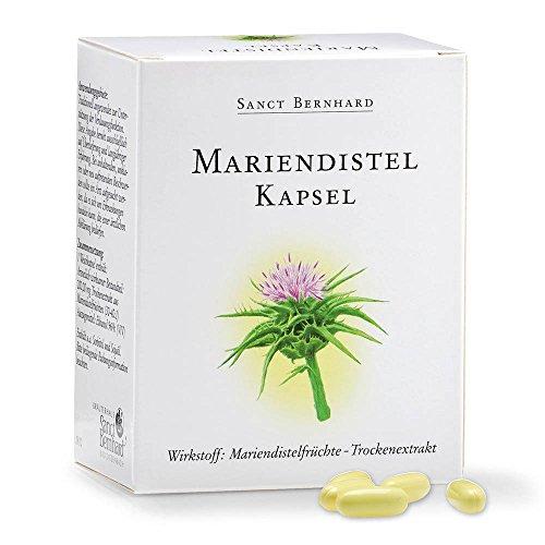 Mariendistel-Kapseln mit Mariendistelfrüchte-Extrakt 90 Kapseln