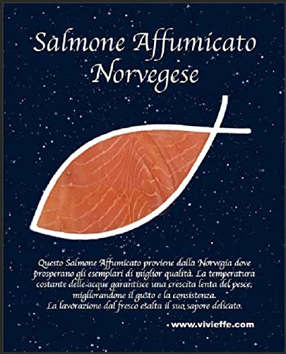 Salmone Affumicato Norvegese 100gr (10 BUSTE)