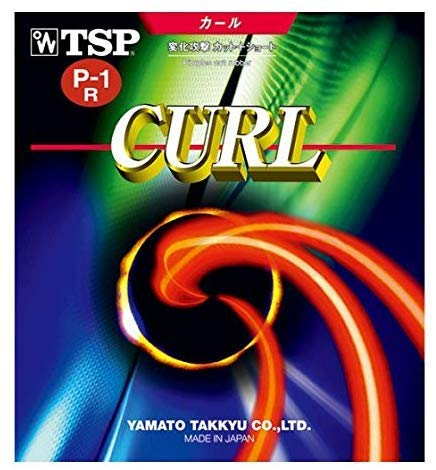 Buy Bargain TSP Curl P1R / P1-R/P-1-R - Long Pips Table Tennis Rubber – Red 1.4mm-1.7mm
