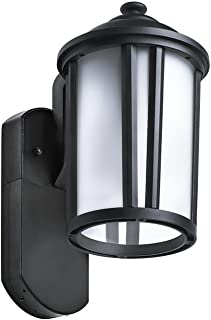 maximus traditional smart security light textured black