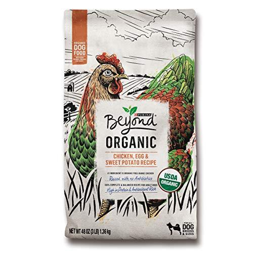 Purina Beyond High Protein Adult Dry Dog Food, Organic Chicken, Egg & Sweet Potato Recipe - 3 lb. Bag