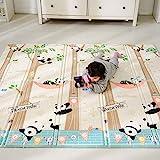 Bammax Play Mat, Folding Mat Baby Crawling Mat Kids Playmat Waterproof Non...