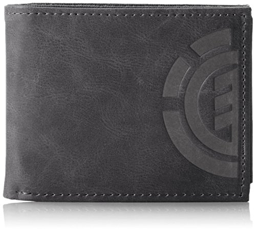 Element Herren Daily Elite Wallet Geldbörse Schwarz (Black)