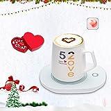Sankirtan Coffee Mug Warmer, Cup Heater for Desk Coffee Warmer Beverage Warmer Automatic