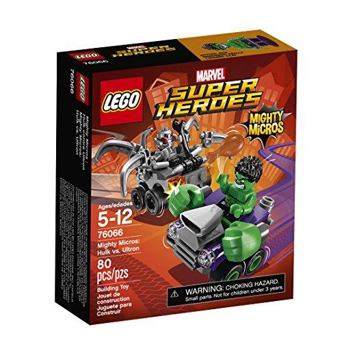 LEGO Marvel Super Heroes Mighty Micros: Hulk vs. Ultrón - Juegos de construcción (Comics, Cualquier género, Multi)