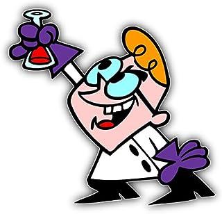 valstick Dexter`s Laboratory Flask Cartoon Car Bumper Sticker Decal