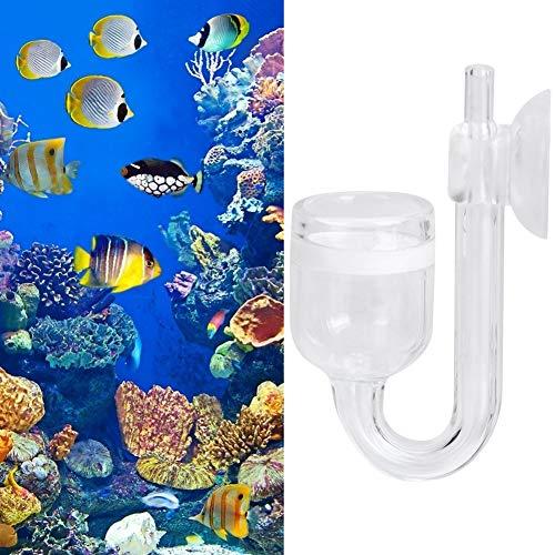 Zouminyy Professionell tillverkning hög transparent raffinering vattenväxter koldioxid CO2 raffinerare, CO2 spridare, för akvarium