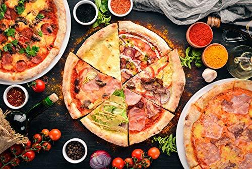 Puzzle para adultos 300/500/1000 juguete Rompecabezas Piezas for adultos y niños de madera de alta dificultad pizza Alimentos Puzzle decoraciones de la pared del hogar del regalo Juegos familiares