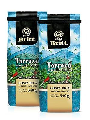 Cafe Britt Tarrazu Montecielo Ground Coffee, 12-Ounce Bags by Cafe Britt