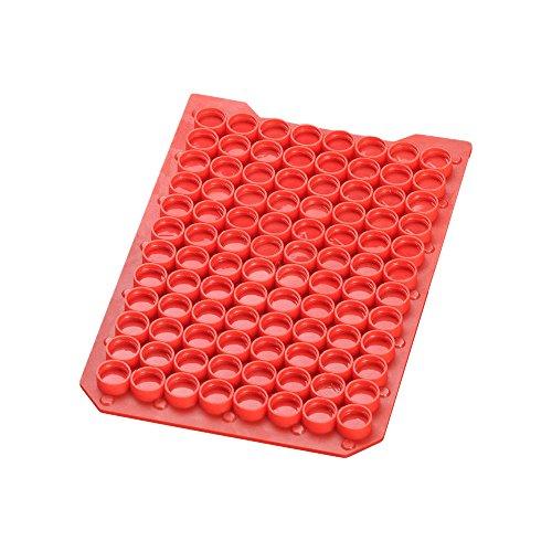 MicroLiter 07-0070MR CapMat, PTFE/Silikon-Septen, Rot