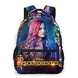 Des-Cen-dants Princess Audrey Backpacks Unisex Casual Style Travel Daypack School Bag Laptop Backpack