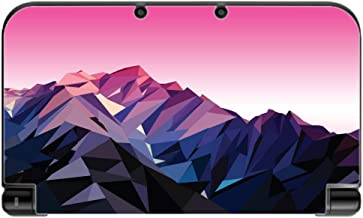 Purple And Pink Low Poly Mountain Range Design Vinyl Decal Sticker Skin by egeek amz for New 3DS XL 2015