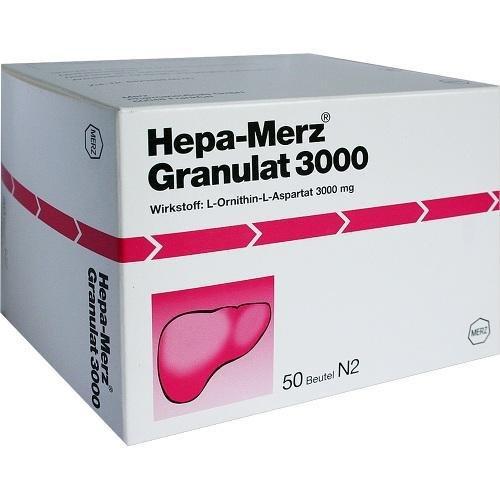 HEPA MERZ GRANULAT 3000 50St Granulat PZN:7620622