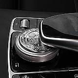 Decorazione per manopola multimediale, da interni, adesiva, per sterzo, con albero di mela in 3D, applicabile ad auto Mercedes-Benz