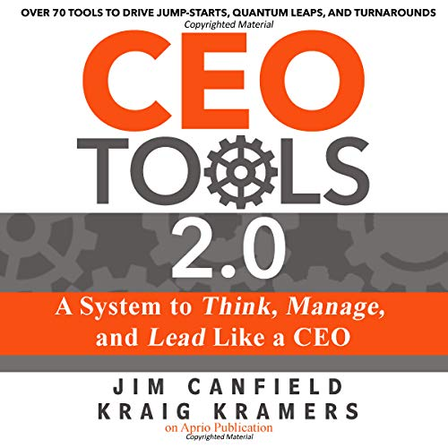 CEO Tools 2.0 audiobook cover art