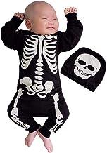 LABIUO Halloween D/éguisement B/éb/é Filles Gar/çons Manches Longues Cosplay V/êtements Chauve-Souris Enfant D/éguisement Costume Barboteuse Combinaison Chapeau pour 6-24 Mois